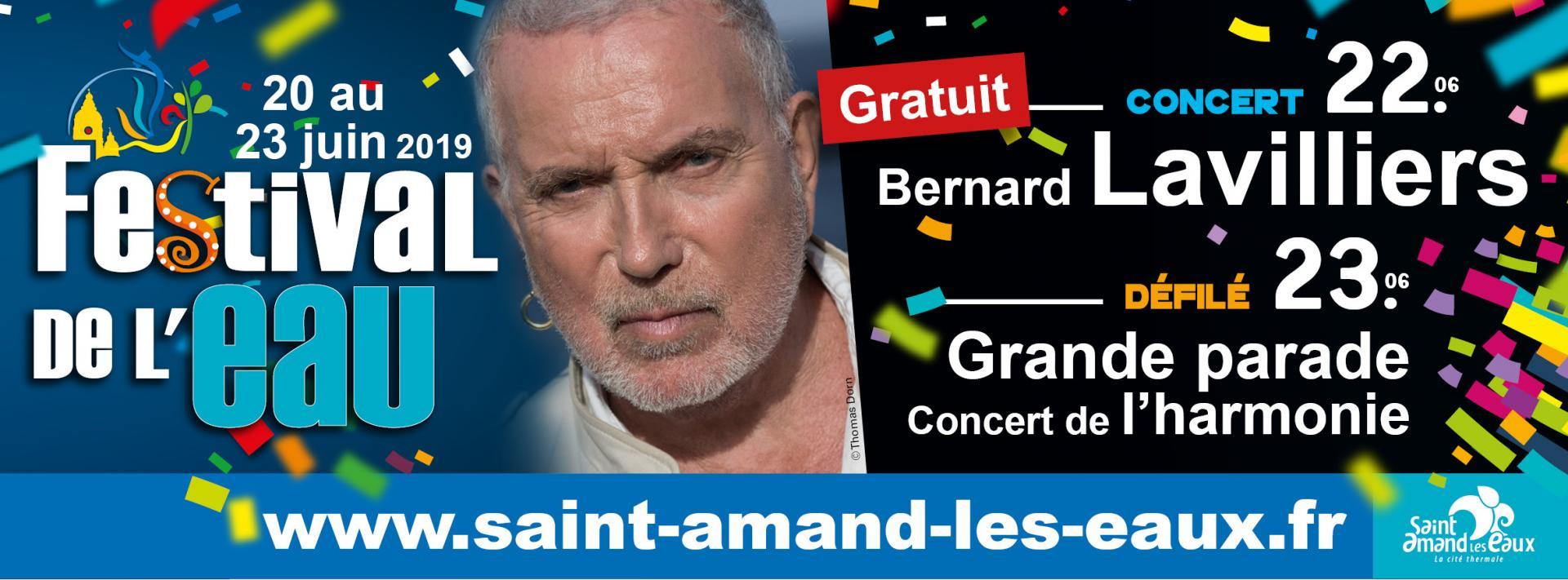 Concert bernard lavilliers ville de saint amand les eaux - Piscine saint amand les eaux horaires ...