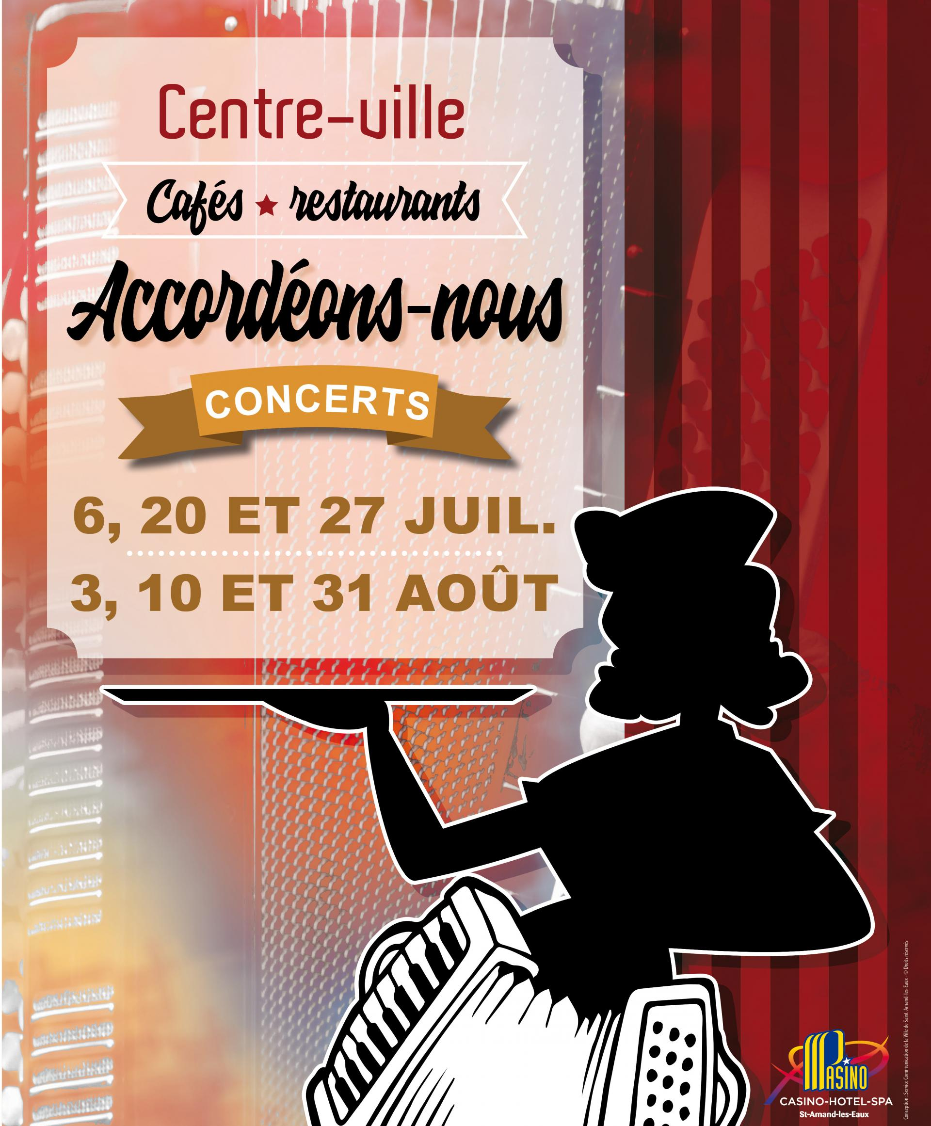 Accord ons nous 2019 concerts ville de saint amand les - Piscine saint amand les eaux horaires ...